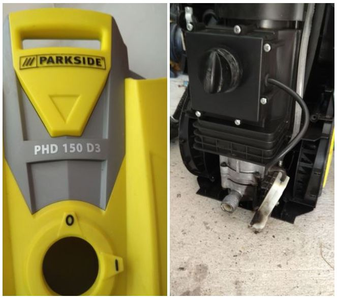 limpiadora agua alta presion LIDL parkside PHD 150